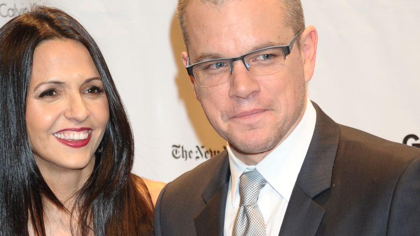 Matt Damon: Darum gab's ein erneuertes Ehegelübde!