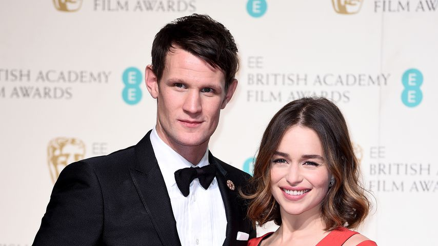 Matt Smith und Emilia Clarke bei den British Academy Film Awards im Februar 2016
