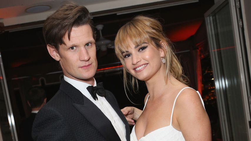 Matt Smith und Lily James