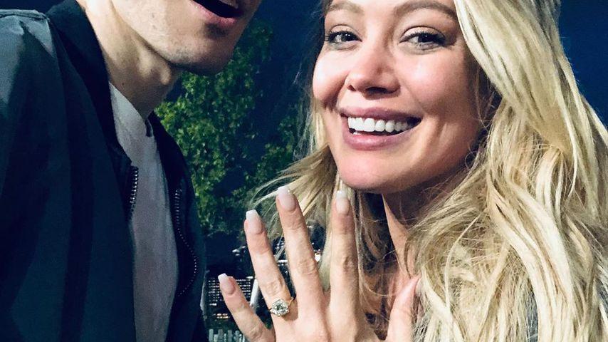 Hilary Duff will heiraten - Verlobungsring von Matthew Koma