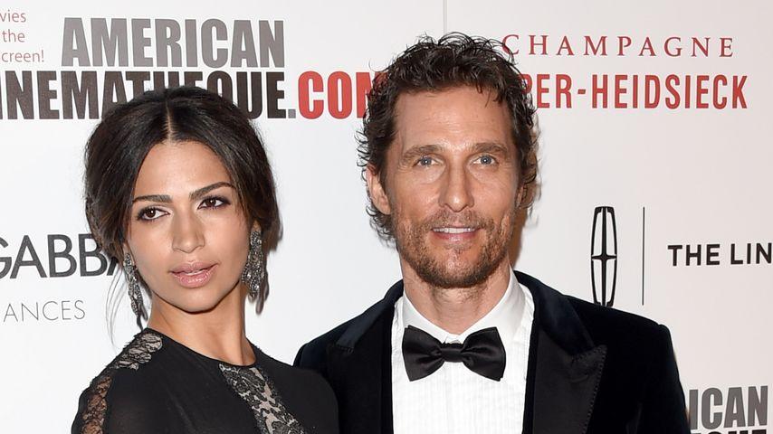 Matthew McConaughey wurde in die Ehe gedrängt