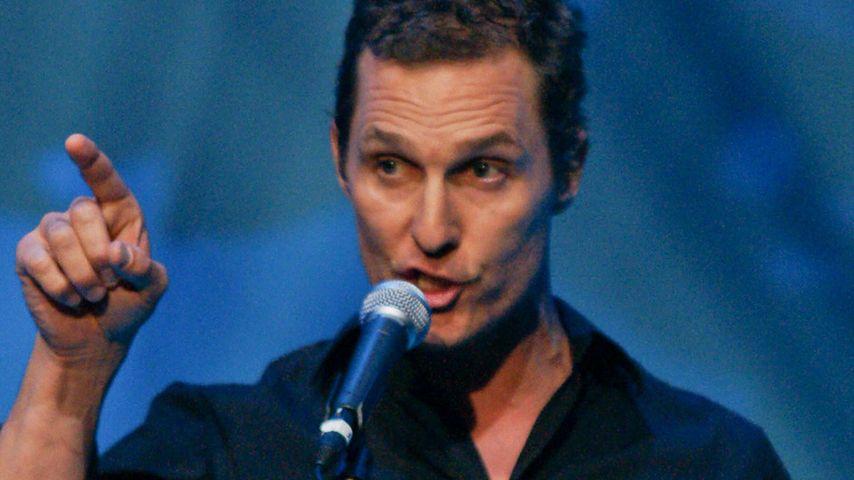 Matthew McConaughey singt bei Johnny-Cash-Tribute
