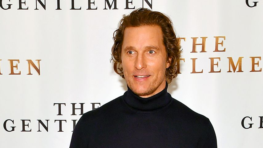 Matthew McConaughey in New York, 2020