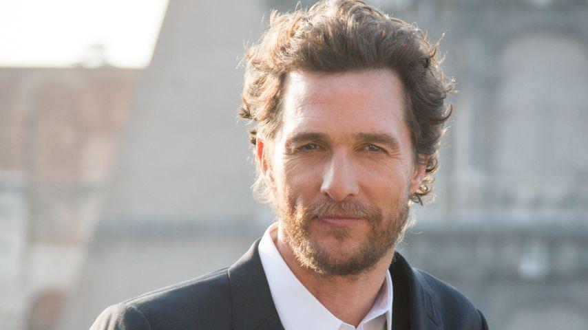 Wow! Matthew McConaughey spendet seine XXL-Gage