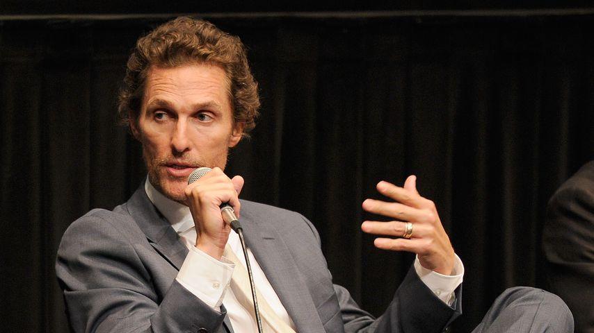 """Matthew McConaughey bei einer Besprechung des Films """"Killer Joe"""" in New York"""