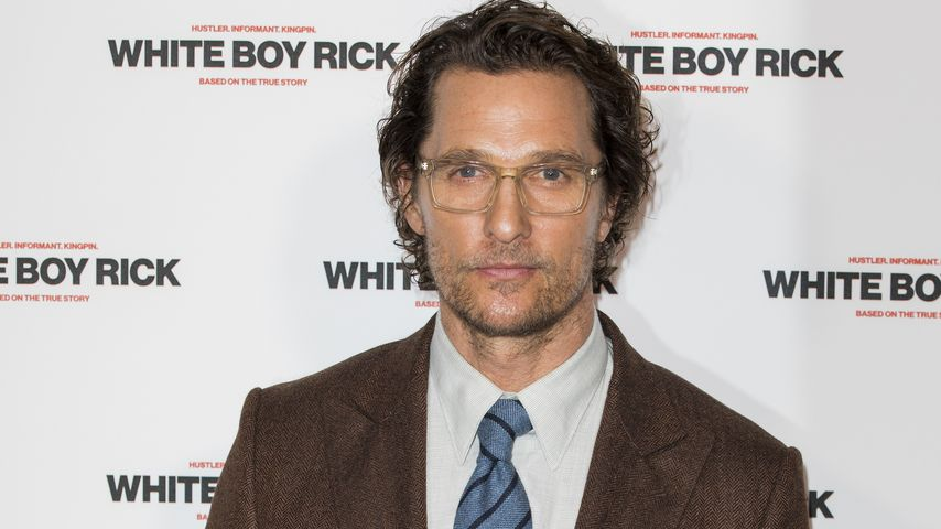 "Matthew McConaughey bei einem ""White Boy Rick""-Screening in London"