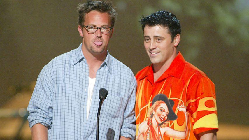 Matthew Perry und Matt LeBlanc bei den Teen Choice Awards 2002, Los Angeles