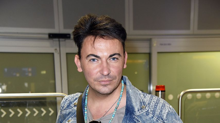 Matthias Mangiapane am Frankfurter Flughafen
