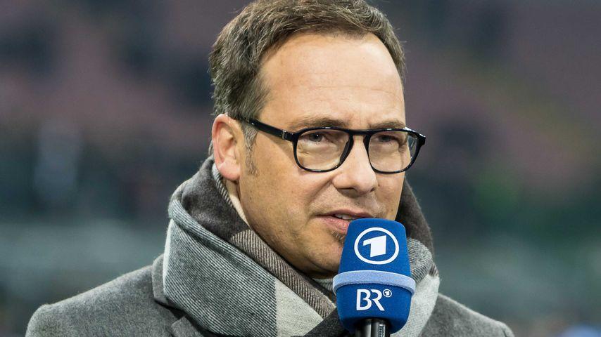 Matthias Opdenhövel beim Länderspiel Italien-Deutschland 2016
