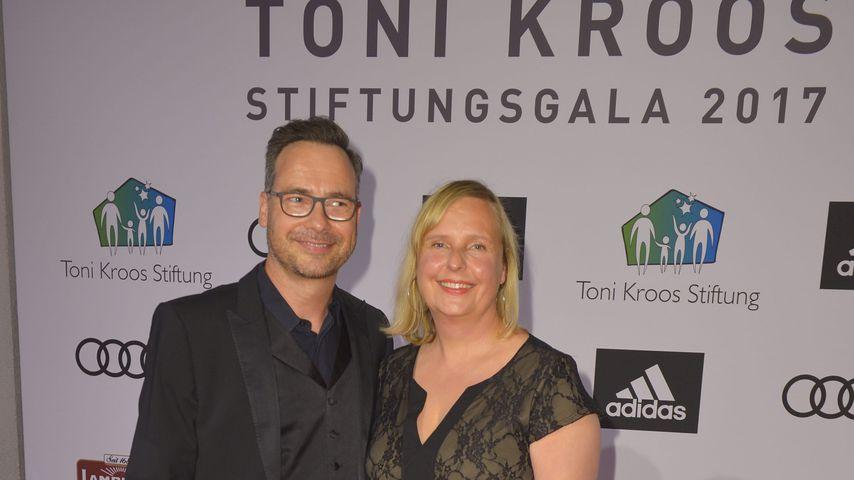 Matthias Opdenhövel und seine Frau Alexandra im Juni 2017