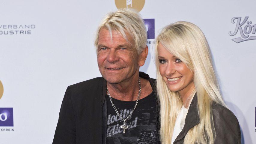 Matthias Reim mit seiner Lebensgefährtin Christin Stark im April 2016