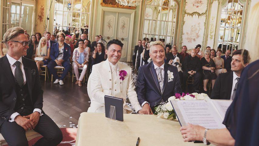 Ganz ohne Drama: So romantisch war Matthias & Huberts Jawort