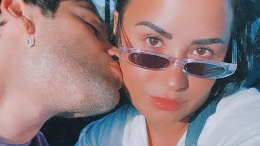 Max Ehrich und Demi Lovato