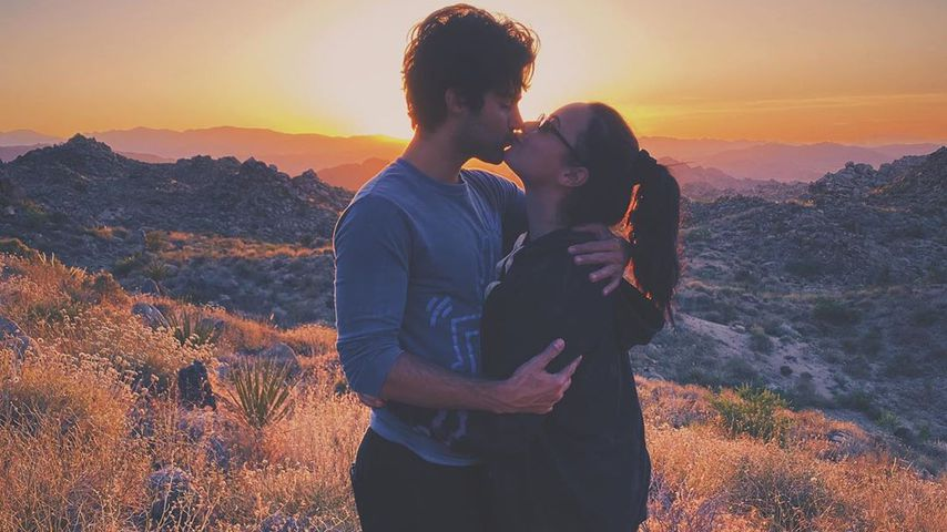 Max Ehrich und Demi Lovato im Juni 2020