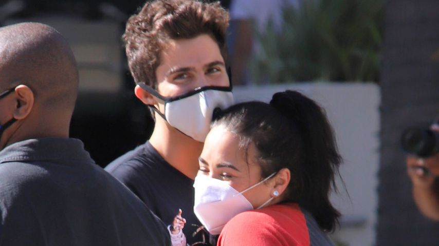 Max Ehrich und Demi Lovato im Juli 2020
