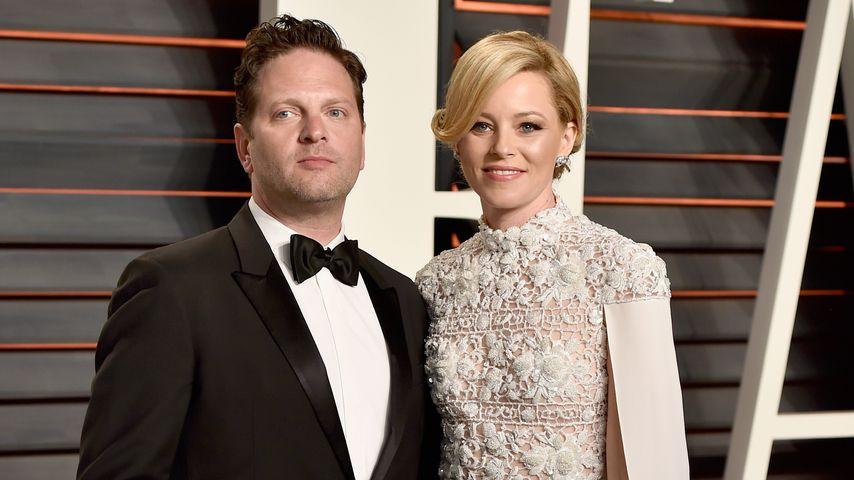 Max Handelman und Elizabeth Banks bei der Vanity Fair Oscar Party 2016
