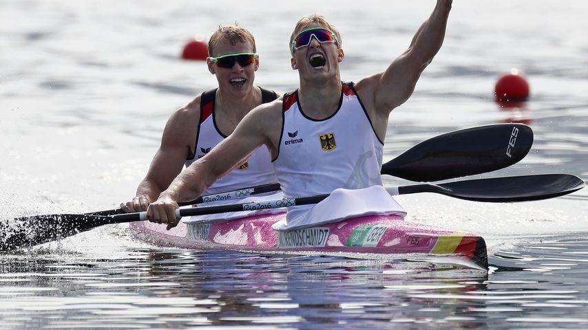 """Kajak-Triumph für Deutschland: """"Arschlöcher"""" holen Gold!"""