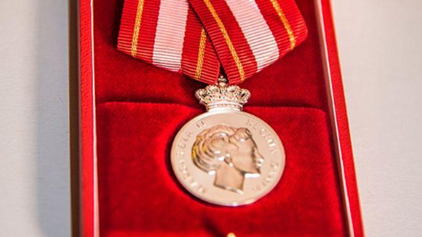 Medaille für Helfer von Prinz Henrik
