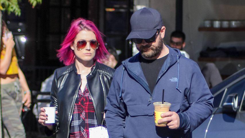 Meg Zany und Jack Osbourne in Los Angeles