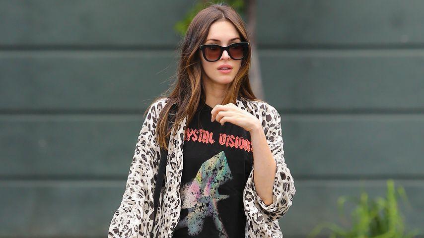 Sexy Leo: Megan Fox verführt in hautenger Lederhose