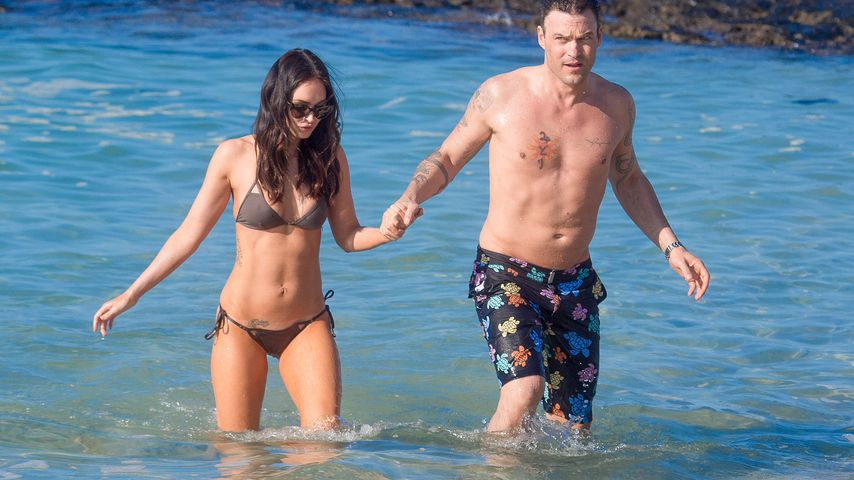 Hot! Megan Fox enthüllt Tattoo unter Super-Sixpack