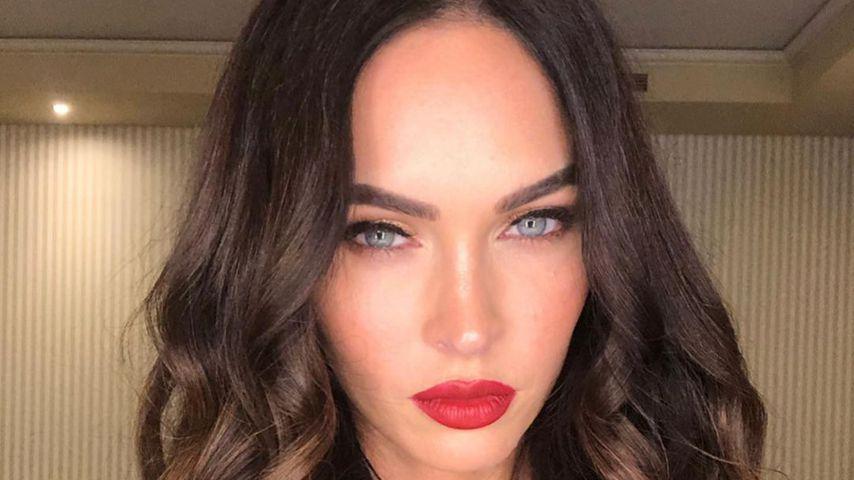 Knapper Bodysuit: Megan Fox verzückt Fans mit sexy Outfit