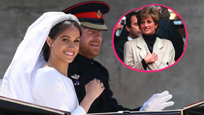 Hochzeit von Harry und Meghan: Rührende Gesten an Lady Di!
