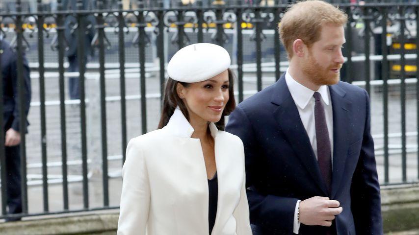 Meghan Markle und Prinz Harry beim Commonwealth Day 2018