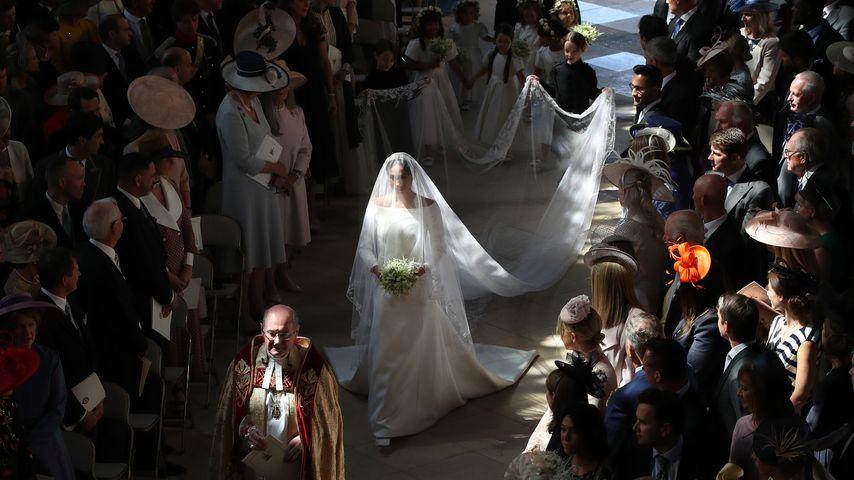 Pur & elegant: Das müsst ihr zu Meghans Brautkleid wissen