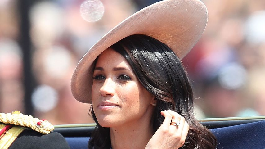 """Herzogin Meghan bei der """"Trooping The Colour""""-Parade in London"""