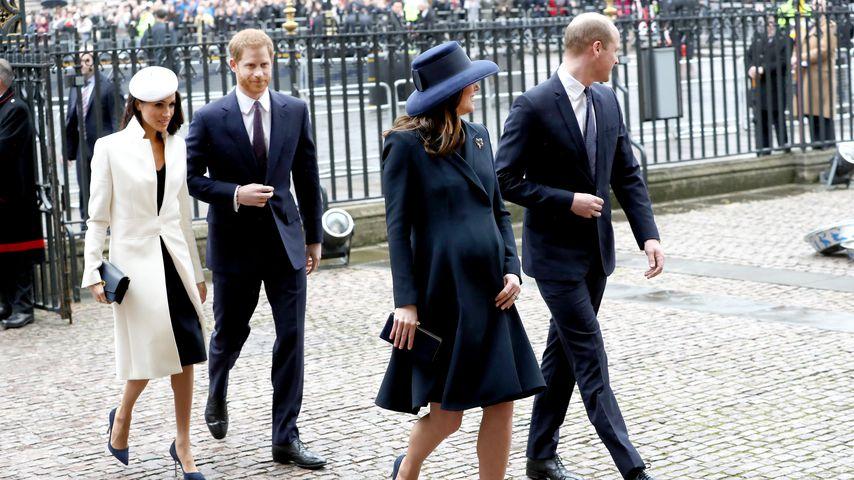 William, Kate & Harry: Nahbar wie nie in Gedenken an Diana