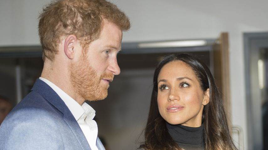 Prinz Harry und Meghan Markle in Nottingham