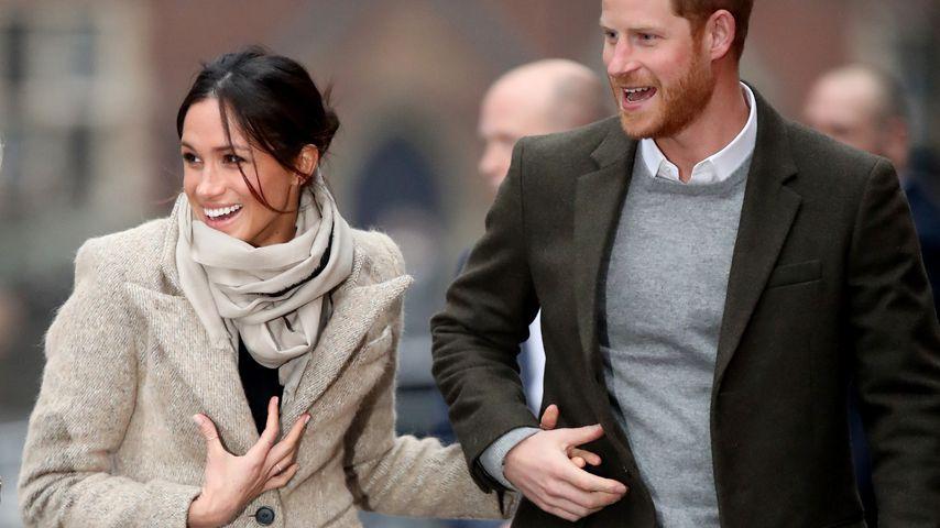 So süß! Meghan & Prinz Harry halten schon wieder Händchen