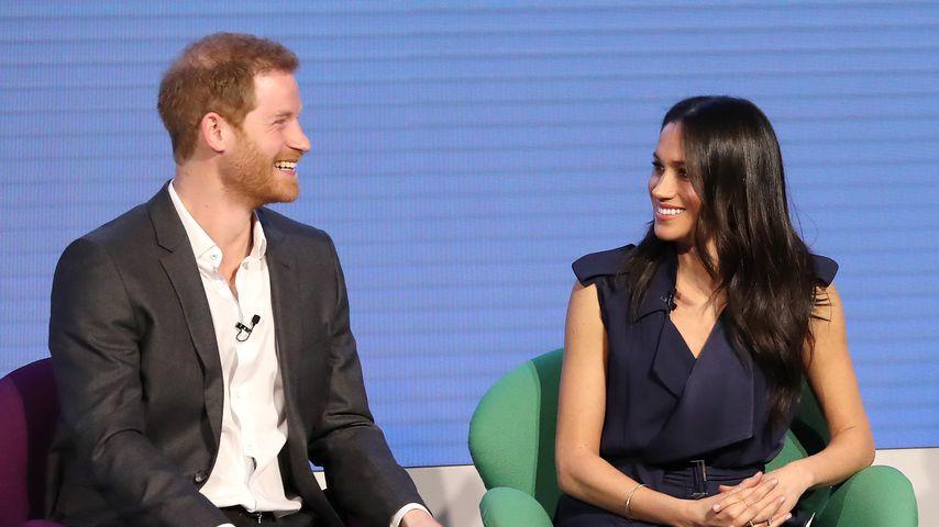 Meghan Markle und Prinz Harry beim ersten jährlichen Royal Foundation Forum in London
