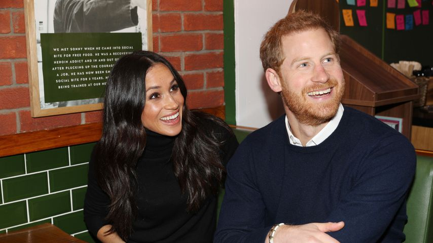 Meghan Markle und Prinz Harry in Edinburgh