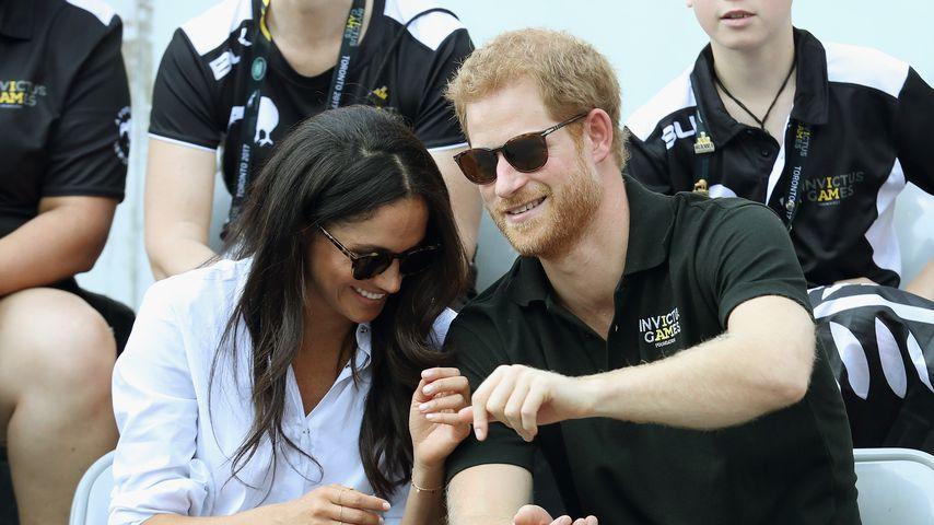 Meghan Markle und Prinz Harry beim Rollstuhl-Tennis in Toronto