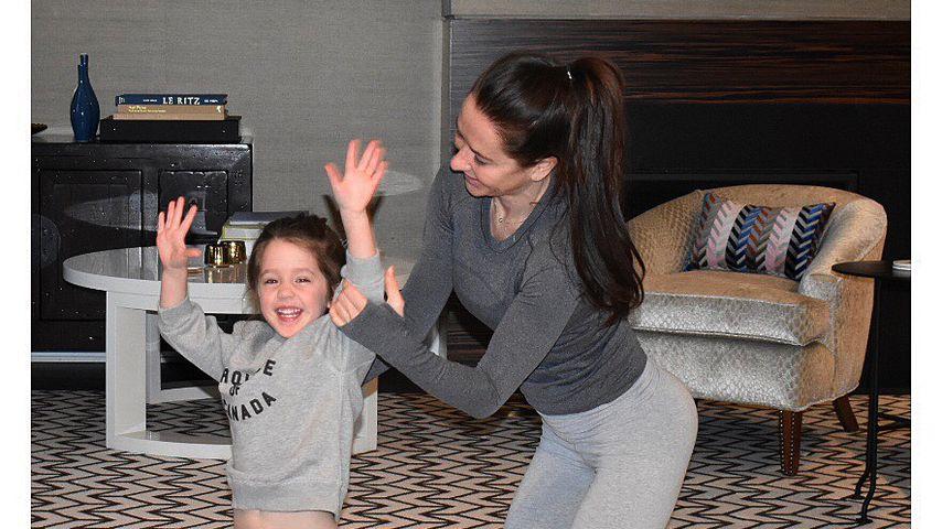 Meghan Markles Stylistin Jessica Mulroney mit ihrer Tochter Ivy
