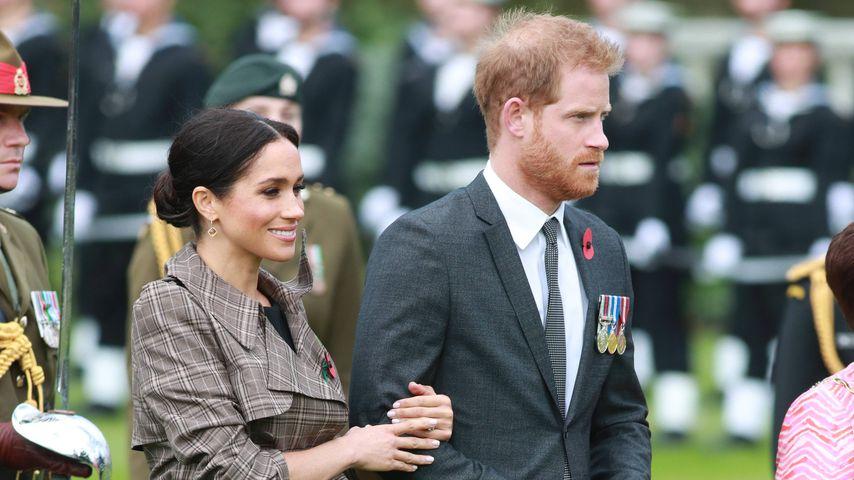 Herzogin Meghan und Prinz Harry in Wellington