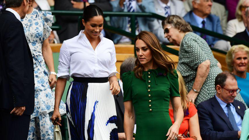 Meghan und Kate auf der Wimbledon-Tribüne