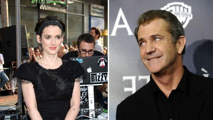 Mel Gibson machte Judenwitze über Winona Ryder