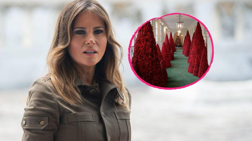 Waschanlage? Melania Trump für Weihnachtsdeko verspottet