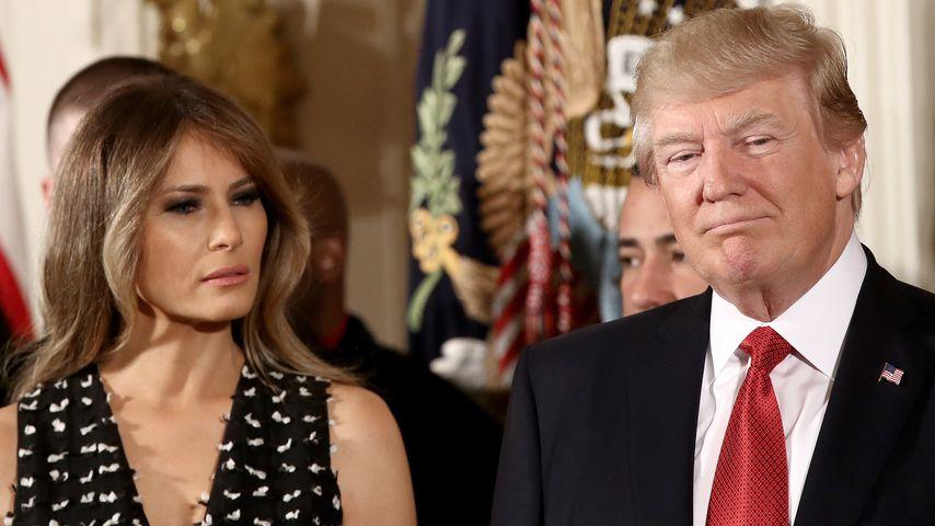 """Zwang Donald Trump seine Melania zu """"After-Baby-Body""""-Deal?"""