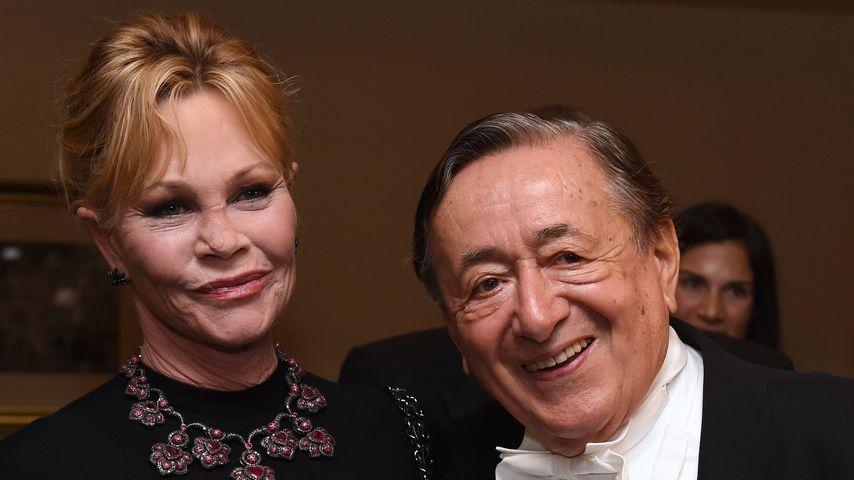 Melanie Griffith und Richard Lugner auf dem Wiener Opernball