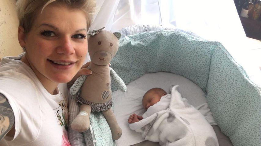 Zuckersüße Mia Rose: Melanie Müller öffnet Baby-Fotoalbum!