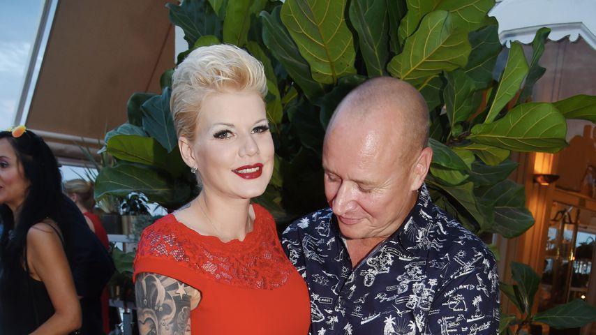 Melanie Müller und Mann Mike auf Mallorca