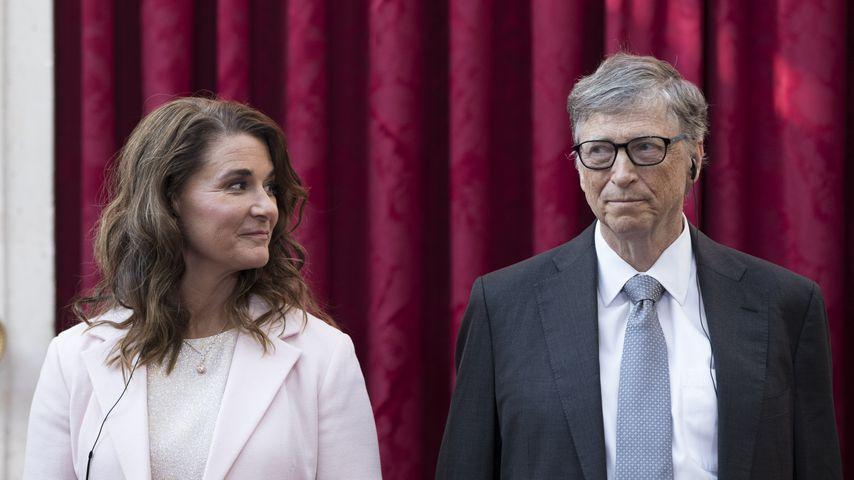 Melinda und Bill Gates im April 2017 in Paris