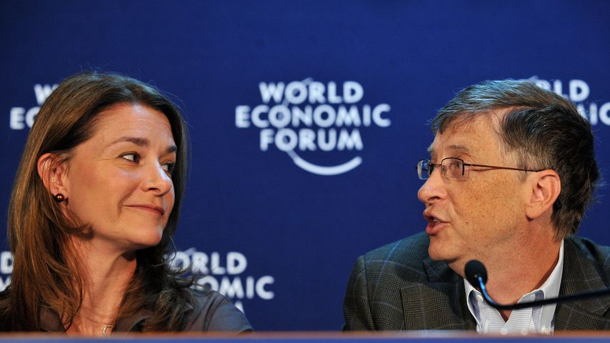 Melinda und Bill Gates, 2009