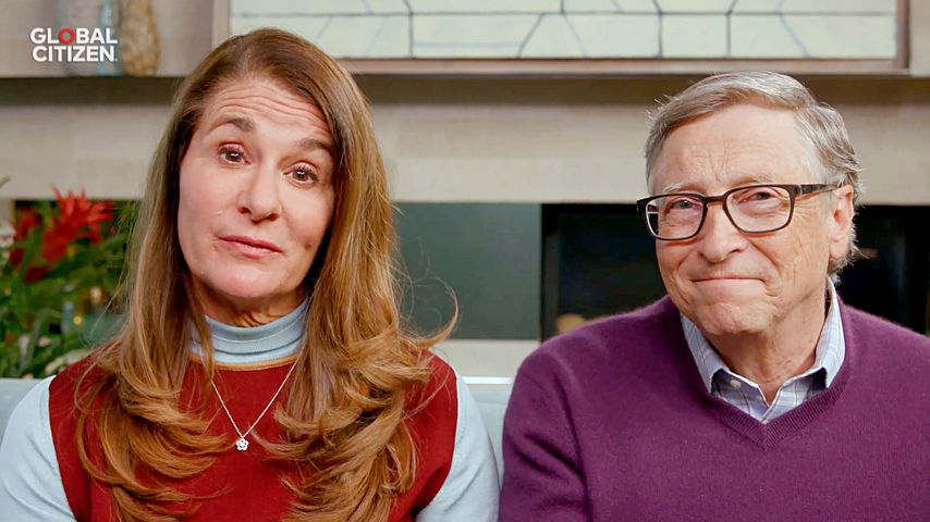Melinda und Bill Gates, April 2020