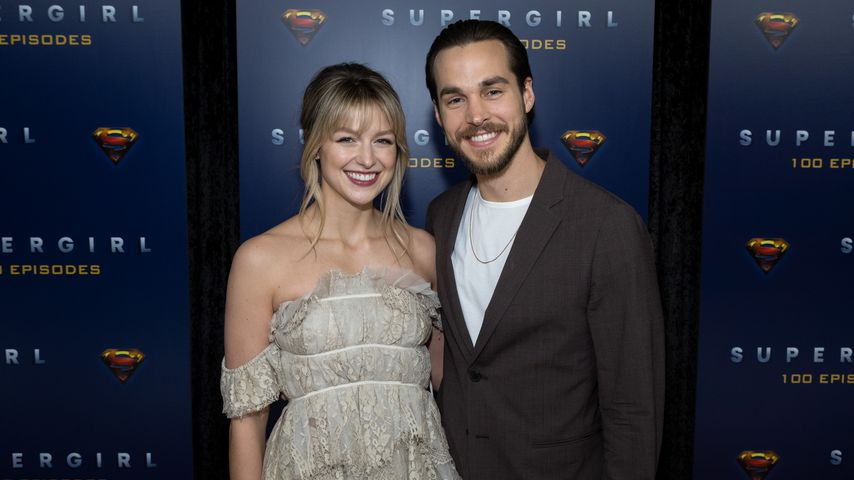 Melissa Benoist und Chris Wood im Dezember 2019 in Vancouver