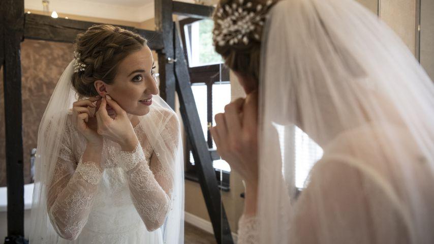 """Melissa in ihrem Hochzeitskleid bei """"Hochzeit auf den ersten Blick"""""""